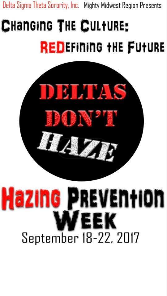 Hazing Prevention Week 2017