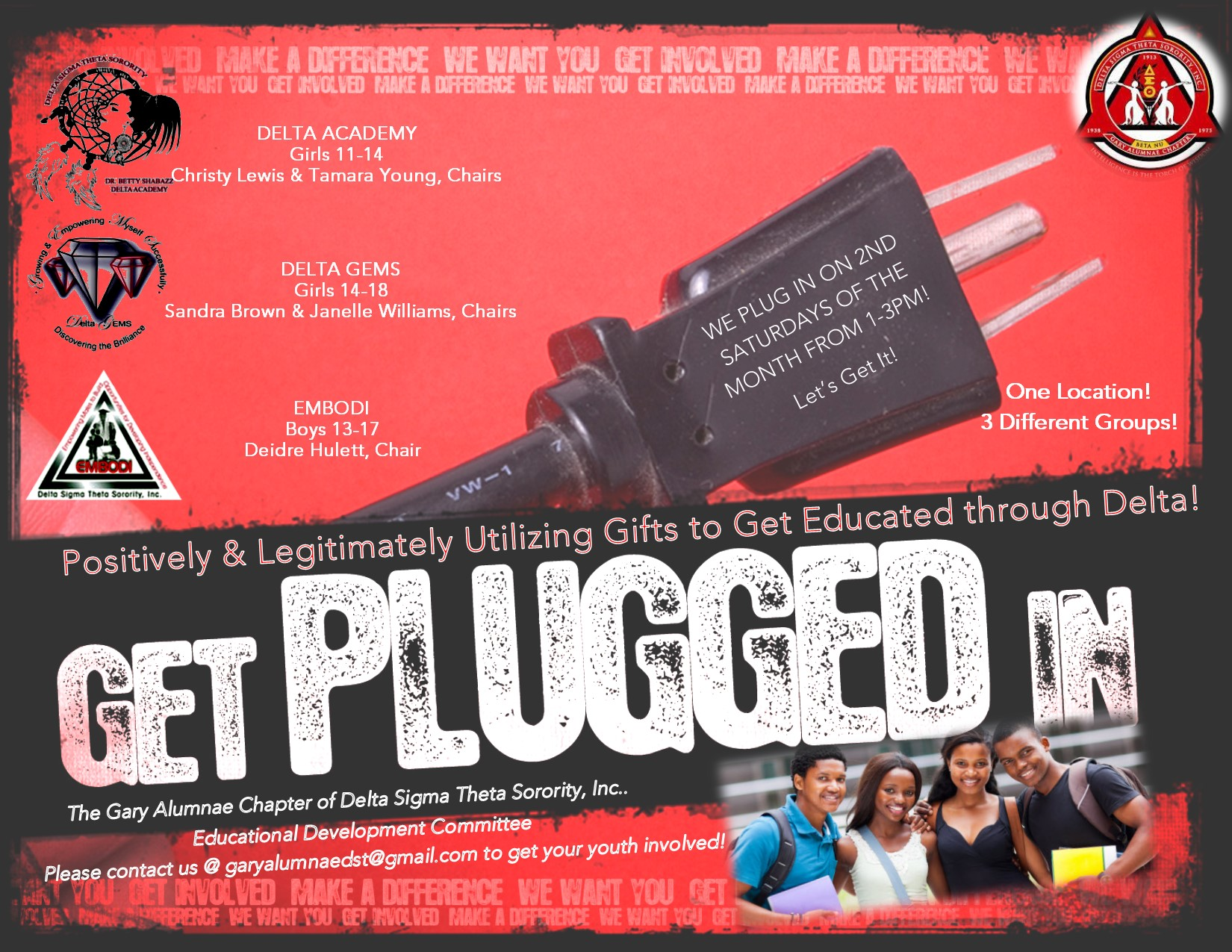 Get PLUGGED Into DST Youth Programs