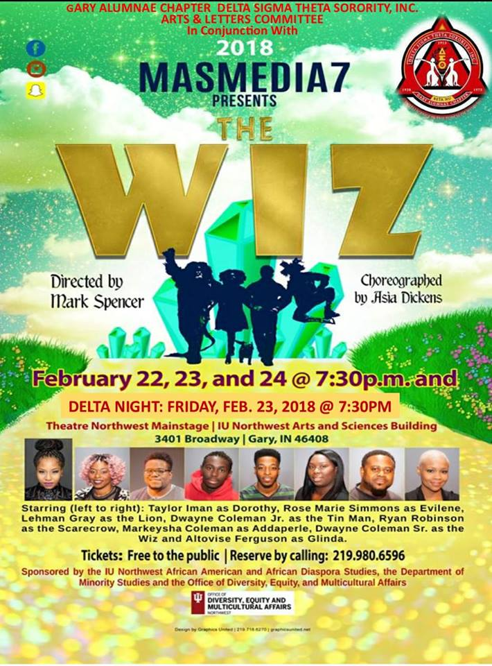 THE WIZ Is Coming to Gary!