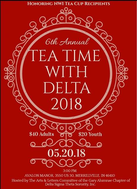 6th Annual Delta Tea & Jabberwock Celebraton