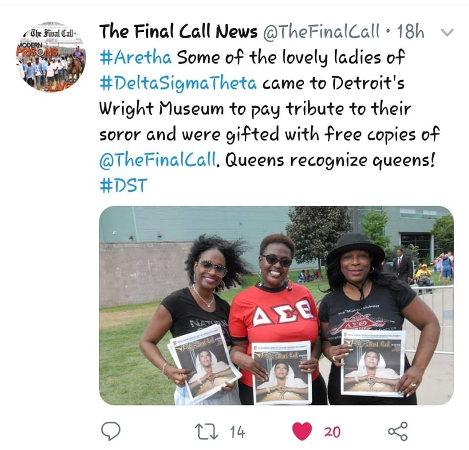 GAC Deltas Recognized by The Final Call News