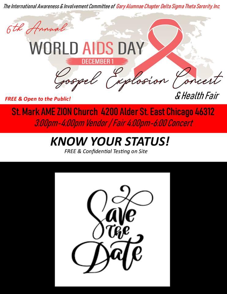 WORLD AIDS DAY GOSPEL EXPLOSION!
