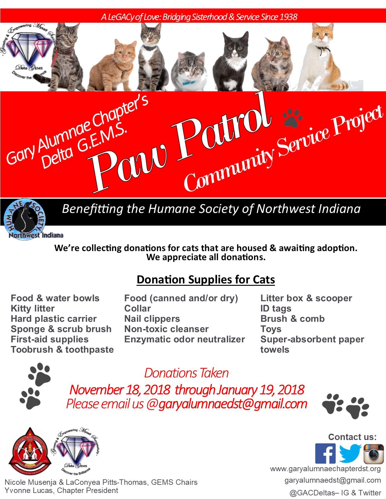 Paw Patrol Service Event