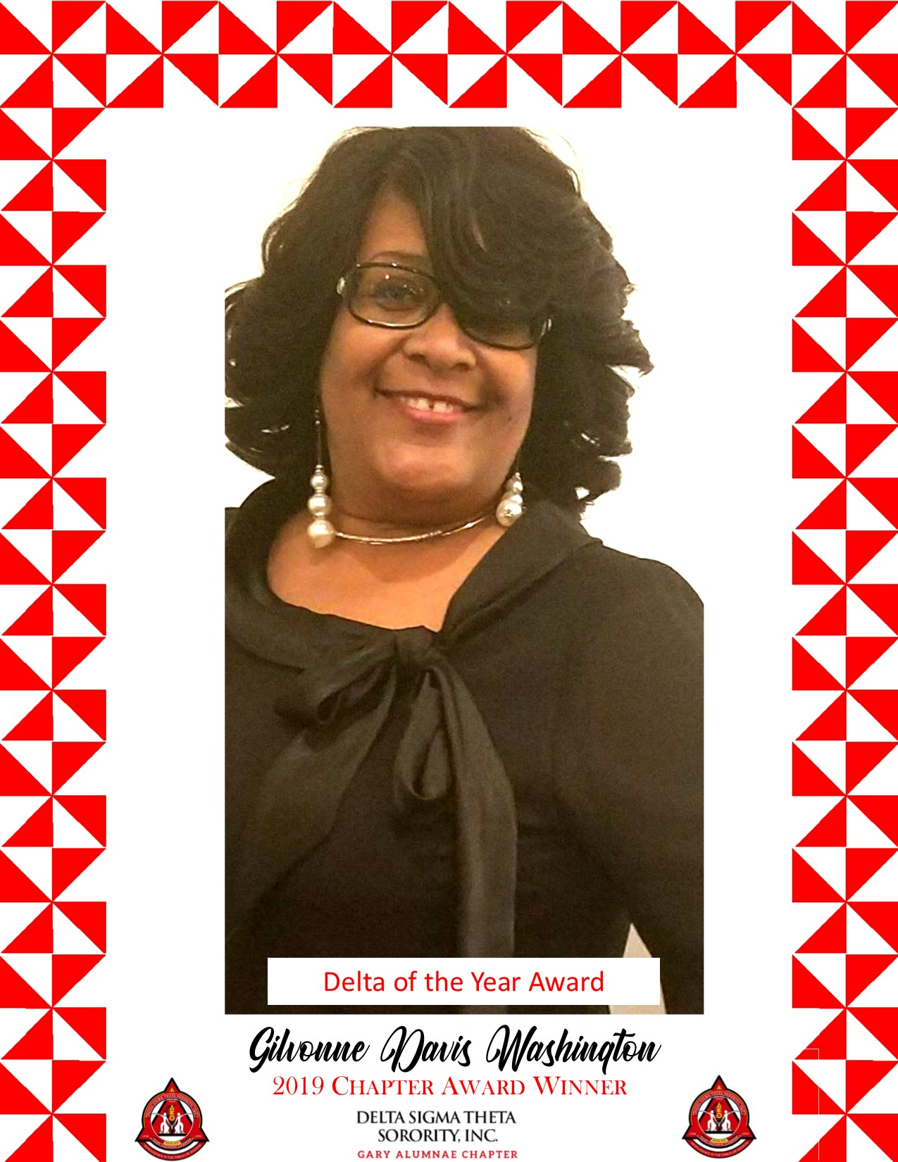Delta Soror of the Year- Gilvonne Davis-Washington