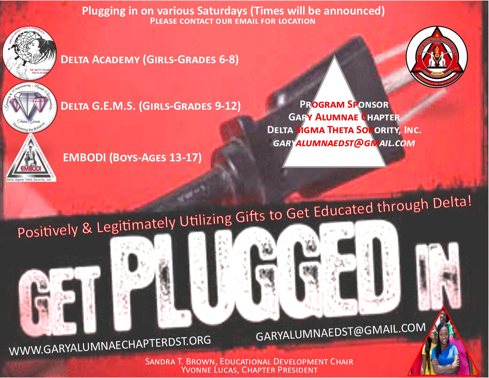 Youth: Get PLUGGED In!