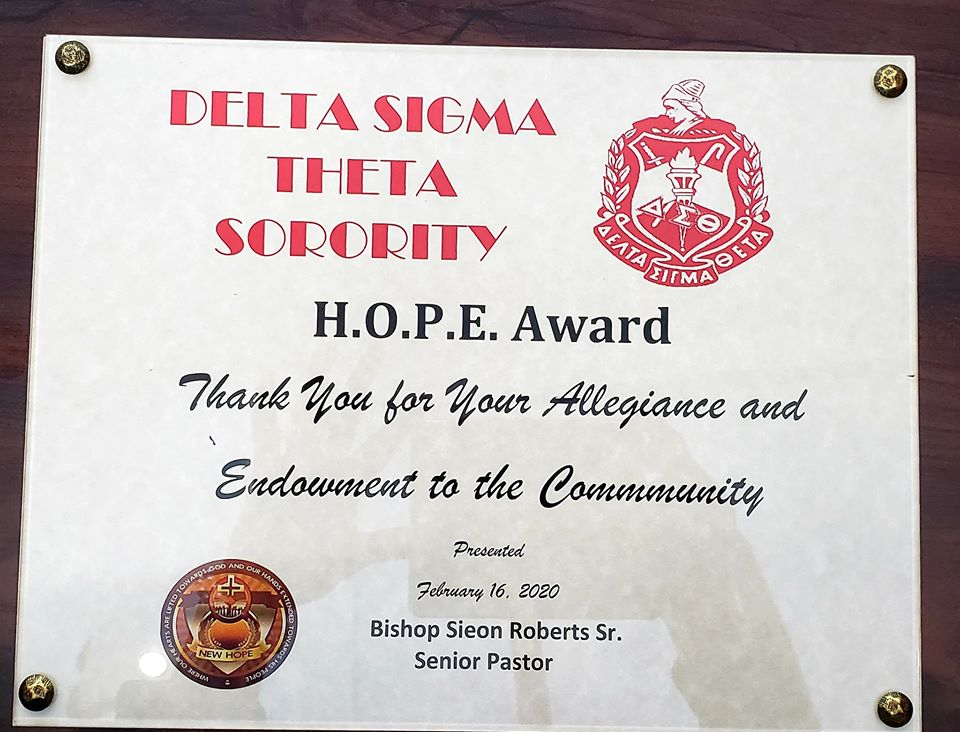 GAC Receives H.O.P.E. Award