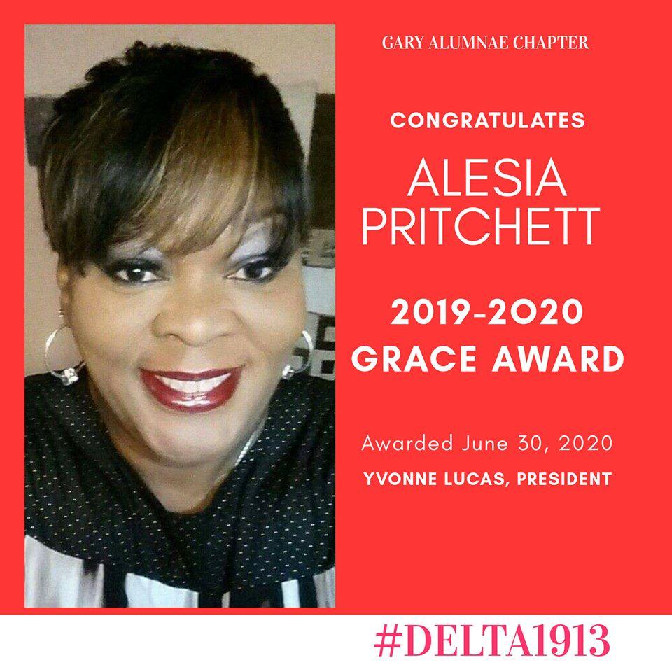 GAC GRACE Award Winner- Alesia Y. Pritchett