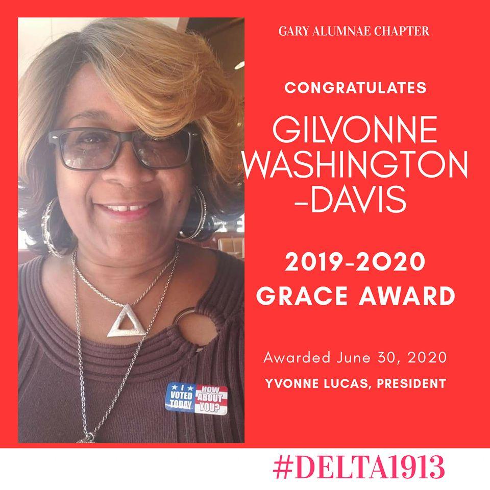 GAC GRACE Award Winner- Gilvonne Washington-Davis