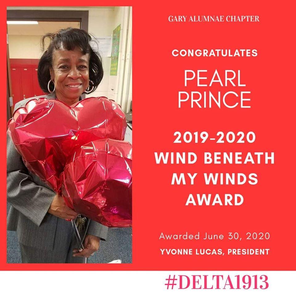 GAC Wind Beneath My Wings Winner- Pearl Prince