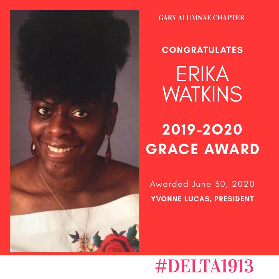 GAC GRACE Award Winner- Erika Watkins