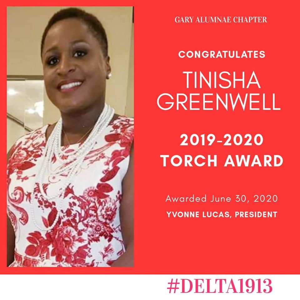 GAC Torch Award Winner- Tinisha Greenwell