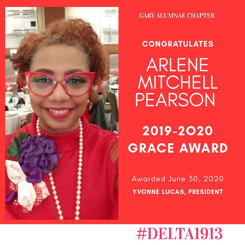 GAC GRACE Award Winner- Arlene Mitchell Pearson