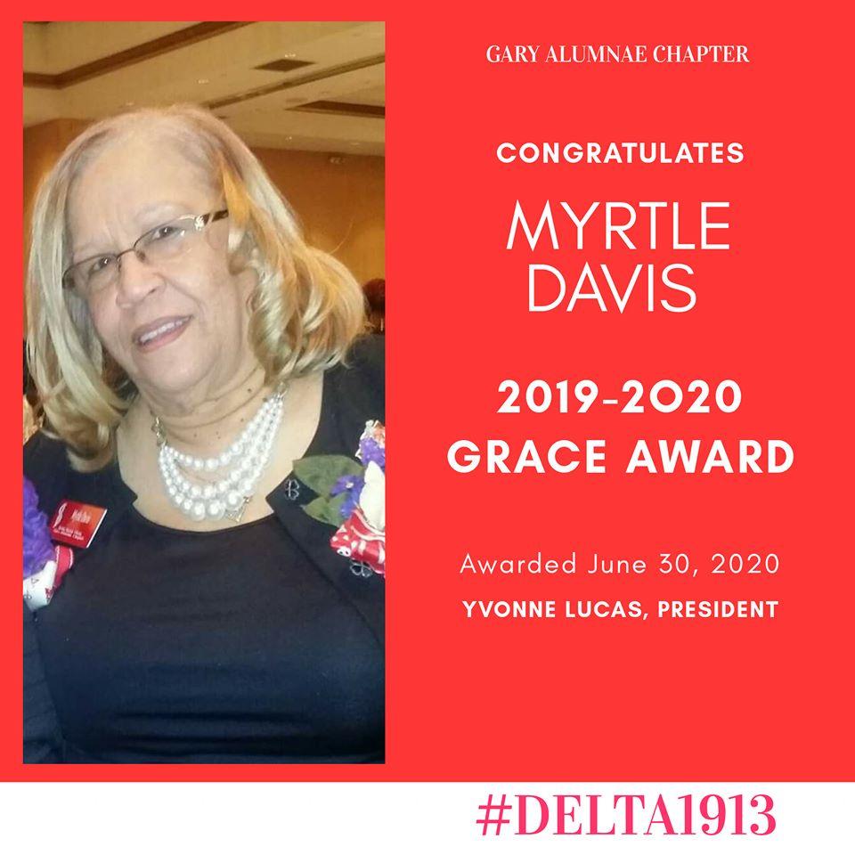 GAC GRACE Award Winner- Myrtle Davis