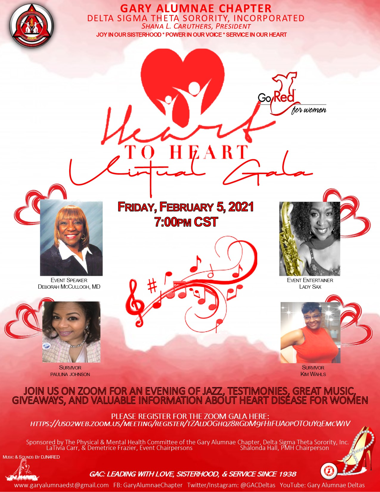 Go Red Heart to Heart Virtual Gala Ball