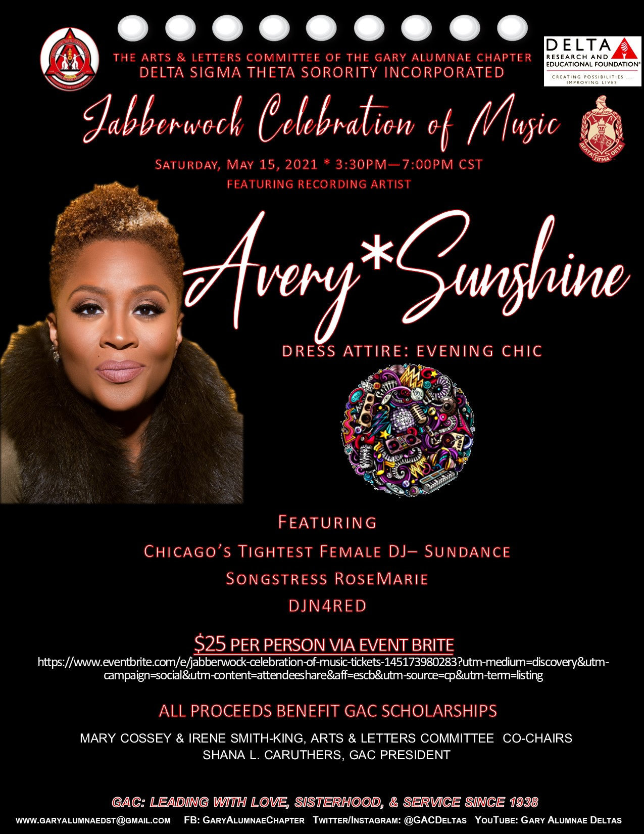 AVERY SUNSHINE HEADLINES JABBERWOCK EVENT! (click the picture to register)