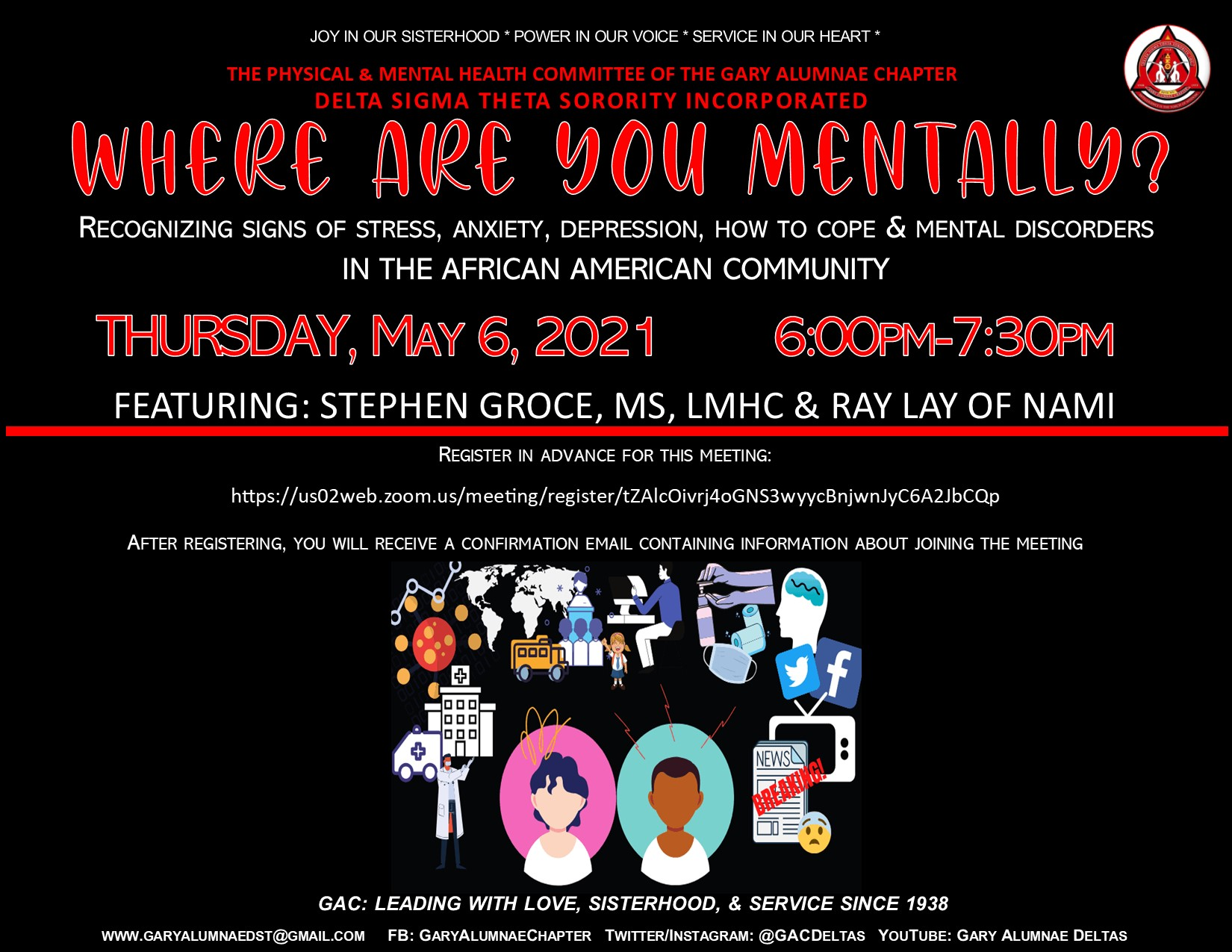 WHERE ARE YOU MENTALLY? (Click to Register)