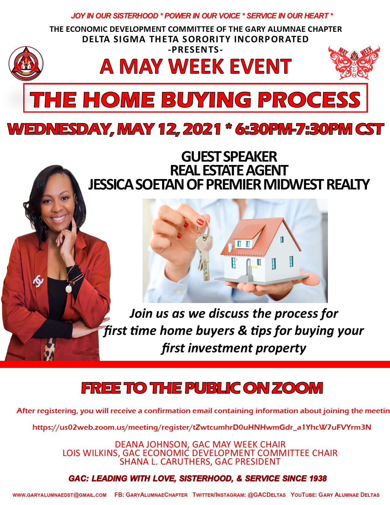 MAY WEEK- THE HOME BUYING PROCESS (WEDNESDAY) CLICK ON THE FLYER
